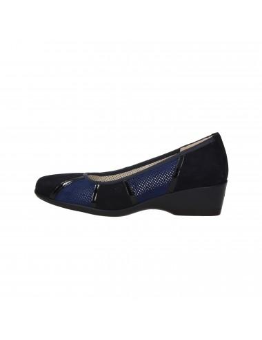 Melluso - R30532 Scarpe con zeppa Blu