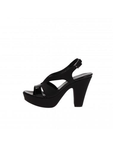 Farinacci - GAROFANO0470 Sandali con tacco Nero