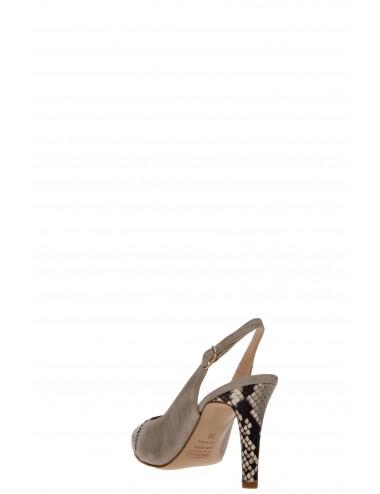 Melluso - E1552 Chanel Beige/pitone