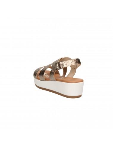 Oh my sandals - 4224 Sandali con zeppa Bronzo
