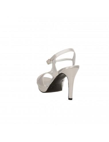 Melluso - J562 Sandali con tacco Argento