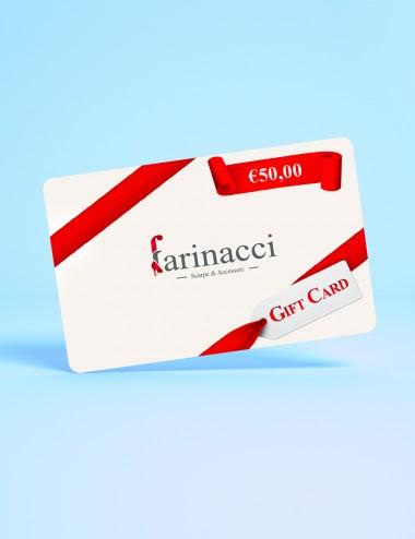 Gift Card Farinacci €50,00