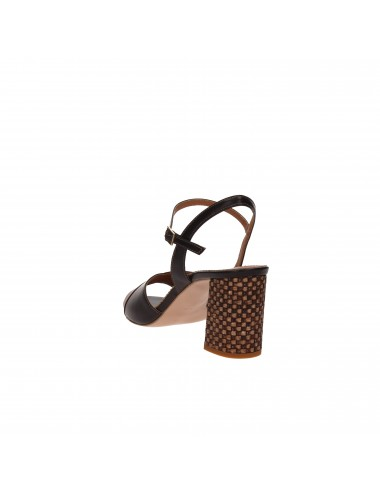 Farinacci - NEMA629 Sandali con tacco Nero/marrone
